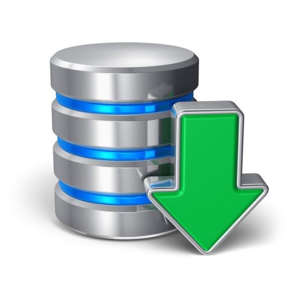 Backup externe des données