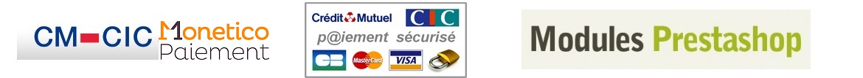 Modules Prestashop CMCIC Monetico pour banque cic et crédit mutuel